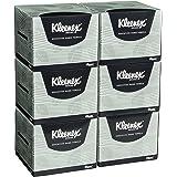 KLEENEX 75 Premium 4-Ply Hand Towels, White, 6 Count