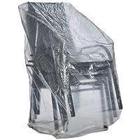 Ultranatura Gartenstuhl Schutzhülle, transparent, 66 x 66 x 110/150 cm