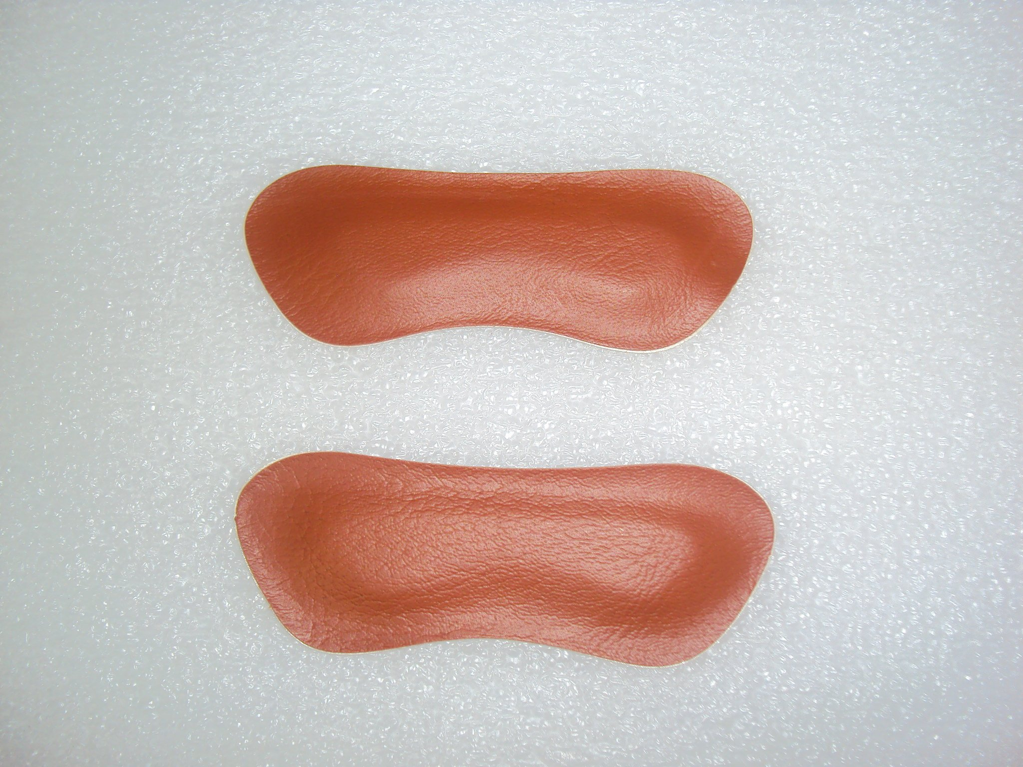 Brown Heel Back Pad Liner Insole Feet Cushion Protector Insole Liner