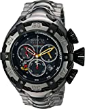 Invicta Men's Disney Limited Edition Quartz Watch with Stainless-Steel Strap, Silver, 29 (Model: 24658)