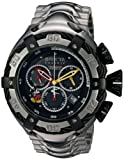Invicta Men's 'Disney Limited Edition' Quartz Stainless Steel Casual Watch, Color:Silver-Toned (Model: 24658)