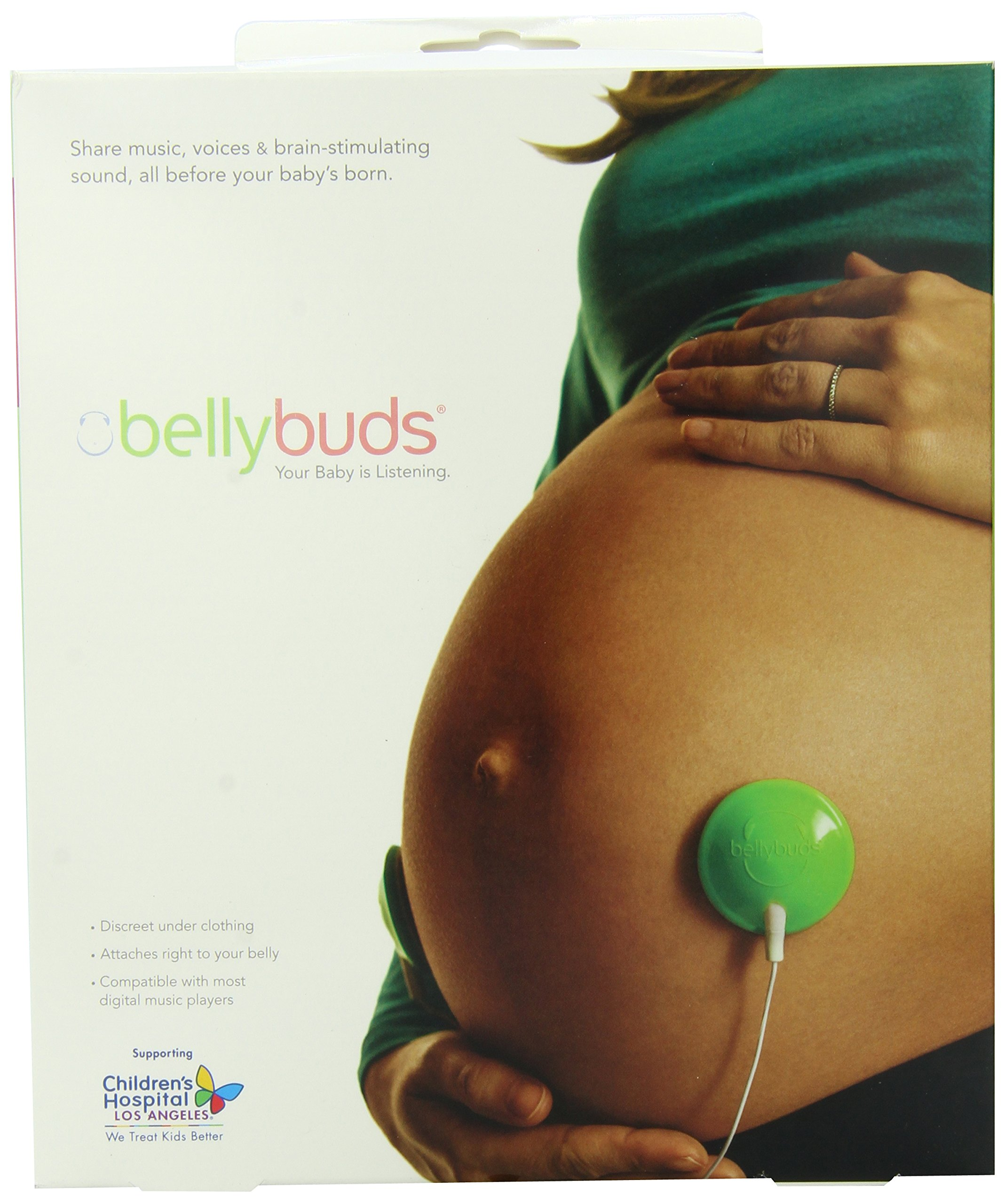 Bellybuds | Baby-Bump Sound System | 1st Generation | Prenatal Pregnant Headphones | Belly Phones That Plays Music And Voices For The Brain Development Of Your Unborn Baby | The Perfect Pregnancy Gift by Bellybuds (Image #1)