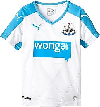 PUMA para Hombre Camiseta de fútbol réplica de la Camiseta del Newcastle Alternativo: Amazon.es: Ropa y accesorios
