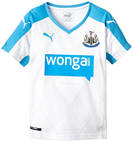 Image Unavailable. Image not available for. Color  PUMA 2015-2016 Newcastle  Away Football Shirt (Kids) 2b2c19455