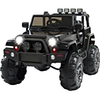 Best Choice Products 12V Remote Control Ride On Car Truck (Black)