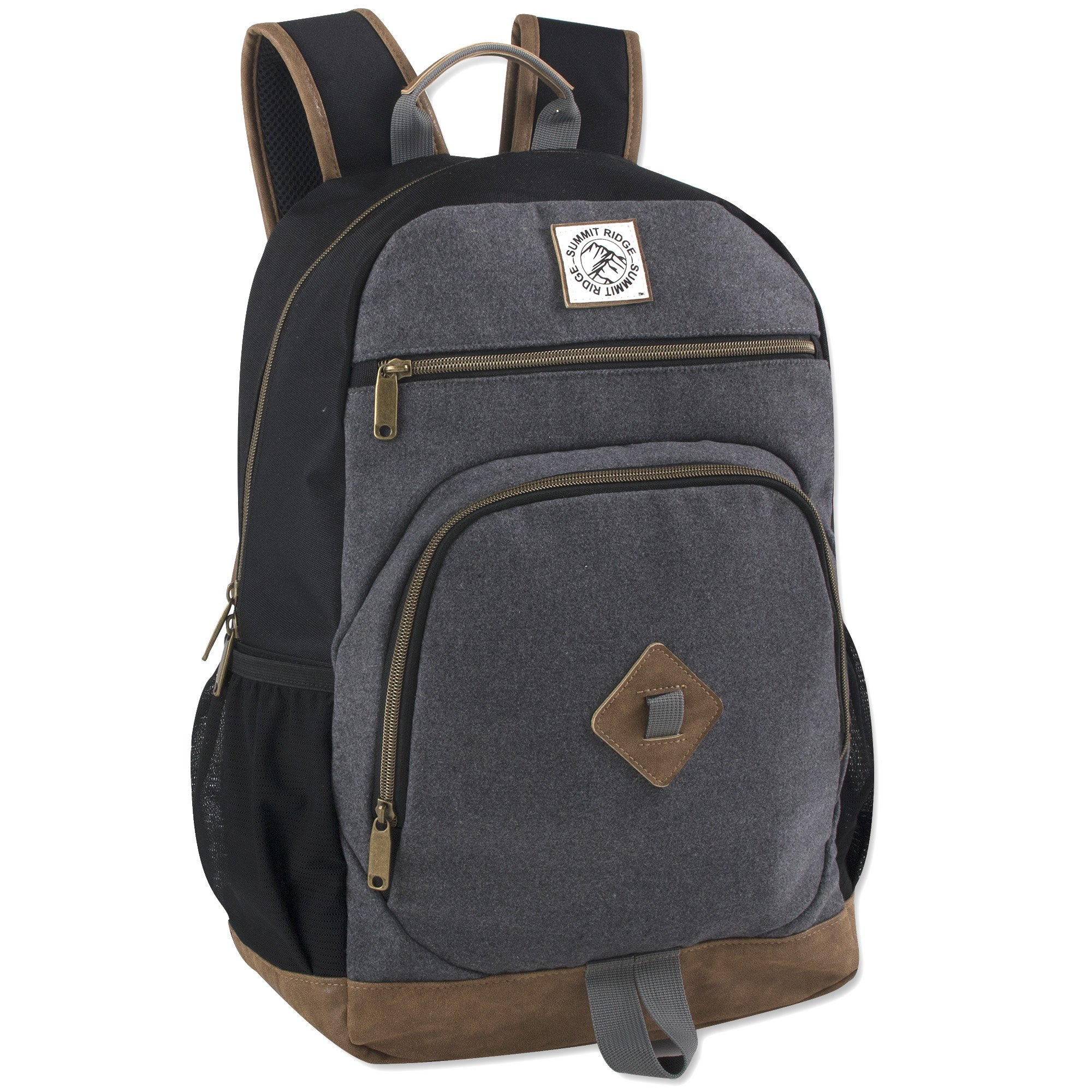 Summit Ridge Backpack With Smooth Felted Laptop