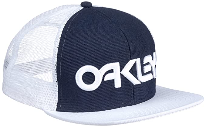 Oakley Hut Factory Trucker - Gorro, Color Azul, Talla DE: One Size ...