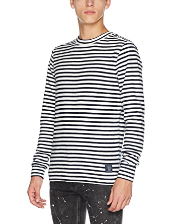Mens Breton Gestreift T-Shirt Scotch & Soda Low Price Sale Extremely Cheap Price Latest Collections Online NE6gH