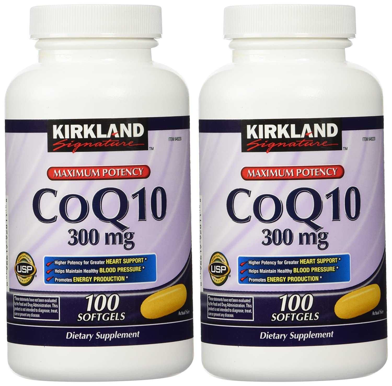 Kirkland Signature CoQ10 300 mg, 200 Softgels
