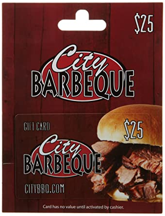 Amazon.com: City Barbeque Gift Card $25: Gift Cards