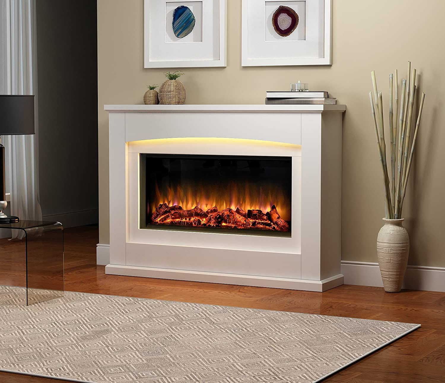 Top 10 Best Electric Fireplace Heater Reviews 2018 2019 On