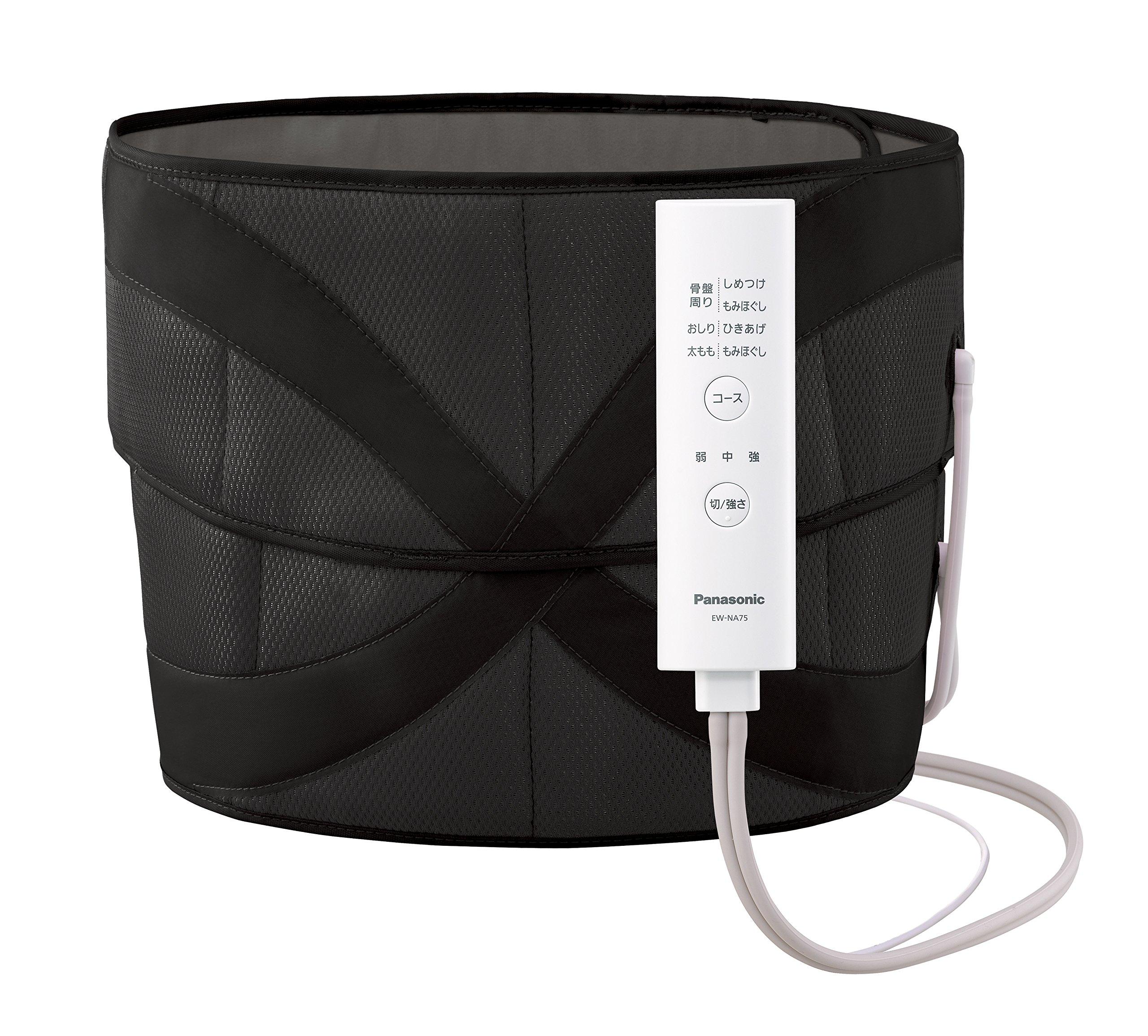 Panasonic air massager pelvis hip reflation Black EW-NA75-K