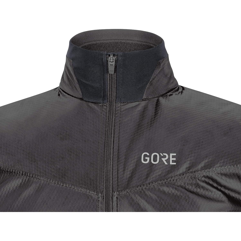 L GORE WEAR R5 Camiseta de Hombre para Running GORE-TEX INFINIUM Negro//Amarillo ne/ón Manga Larga