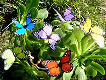 Butterfly Garden Ornaments U0026 Patio Décor Butterfly Party Supplies Butterfly  Decorations For Garden U0026 Flo Butterfly