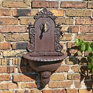 Clgarden Wb1 Pared En El Diseno Nostalgico Jardin Fuente De Agua Con - Diseo-de-fuentes-de-agua