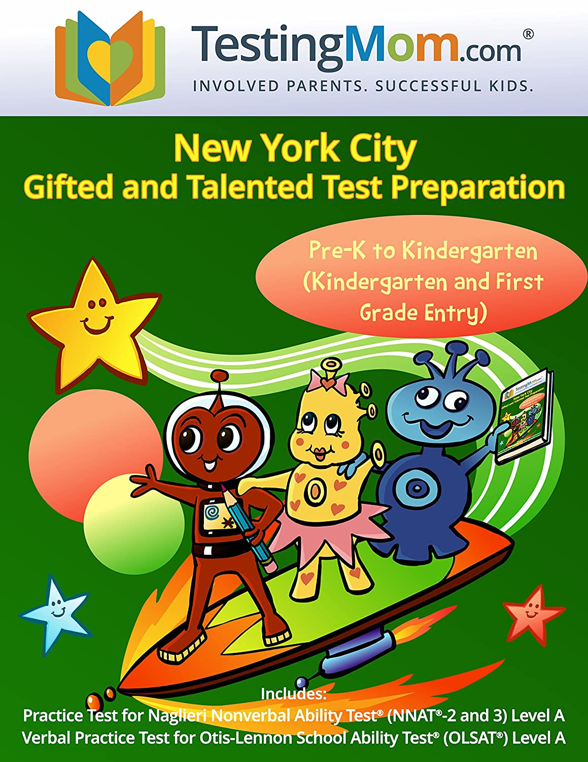Amazon.com: NYC Gifted and Talented Test Preparation Workbook for OLSAT and NNAT2 Level A – Pre-K and Kindergarten: TestingMom.com: Home & Kitchen
