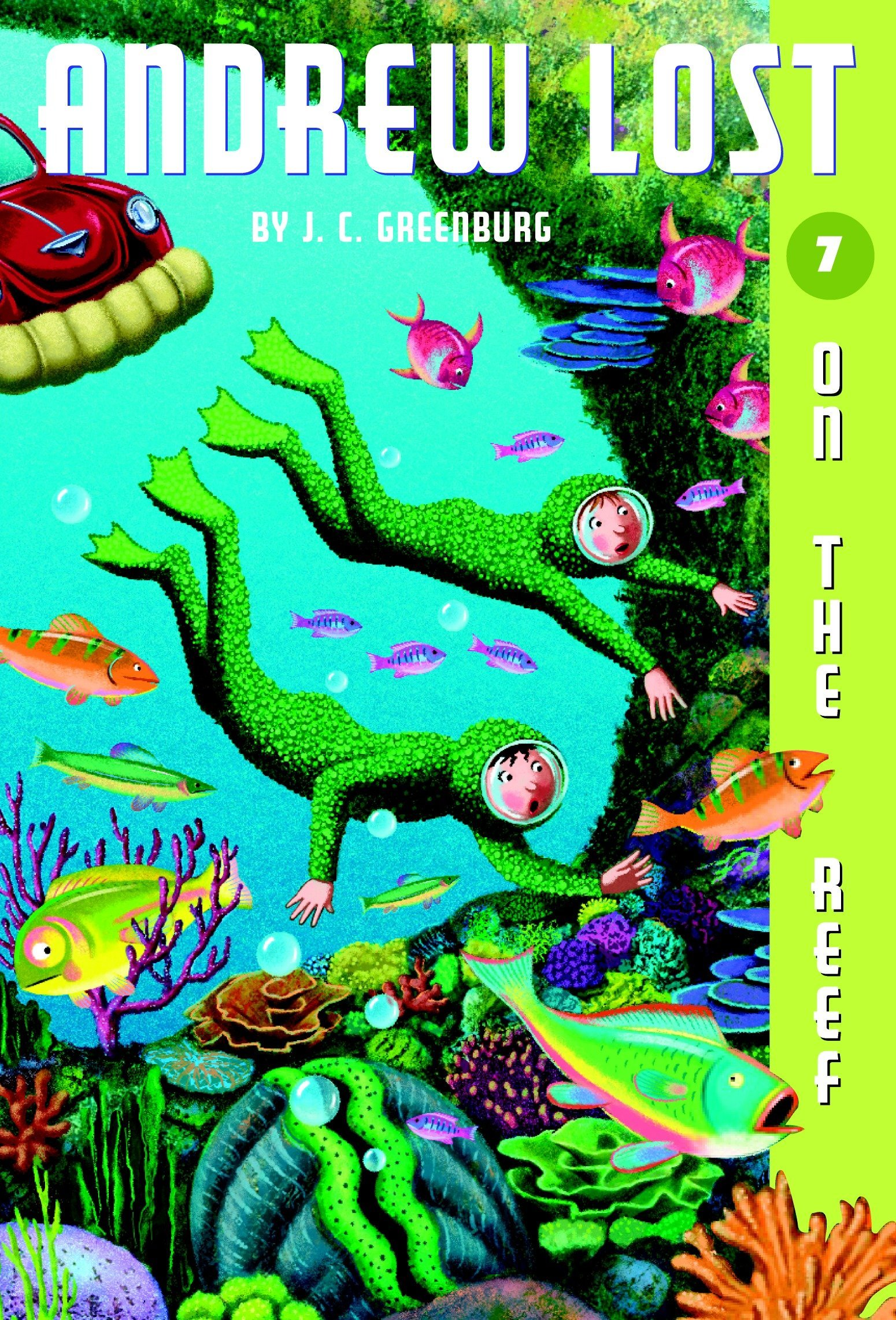 Read Online On the Reef (Andrew Lost #7) pdf