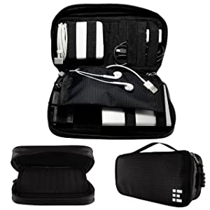 Zero Grid Travel Electronics Organizer