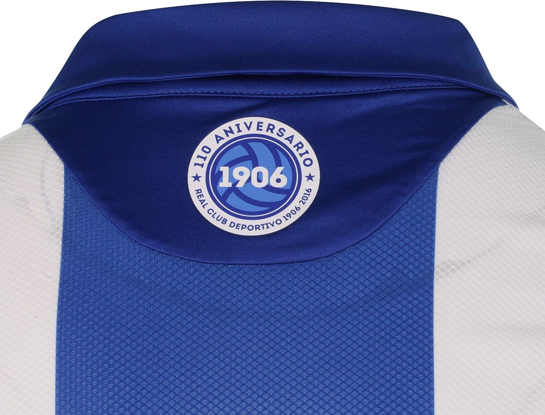 Lotto RC Deportivo De La Coruna Home 2016/2017 Camiseta, Hombre ...