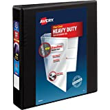 Avery Heavy-Duty View Binder with 1.5 Inch One Touch EZD Ring, Black, 1 Binder (79695)