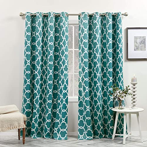 Best window curtain panel: Exclusive Home Curtains Gates Sateen Blackout Thermal Window Curtain Panel Pair