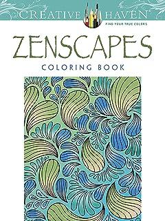 Creative Haven Zenscapes Coloring Book Adult