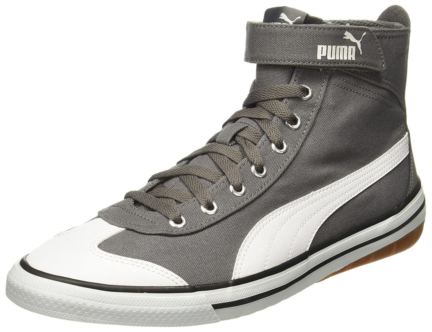 4adcdfbeca55 Puma Unisex 917 Fun Mid Idp Quiet Shade-Black Sneakers - 8 UK India (42  EU)  Buy Online at Low Prices in India - Amazon.in