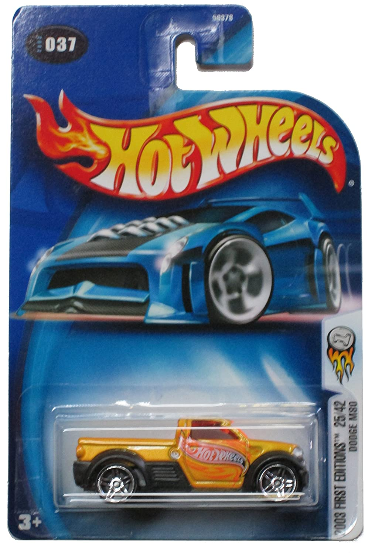 Hot Wheels 2003 First Editions Dodge M80 #037 25//42 Pr-5 Wheels Mattel