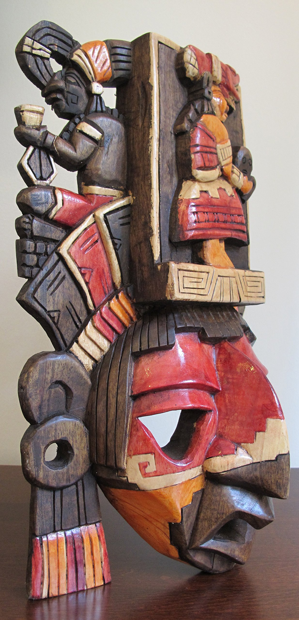 Mayan Mask - Ixchel ''Goddess of the Moon *Premium Craft*