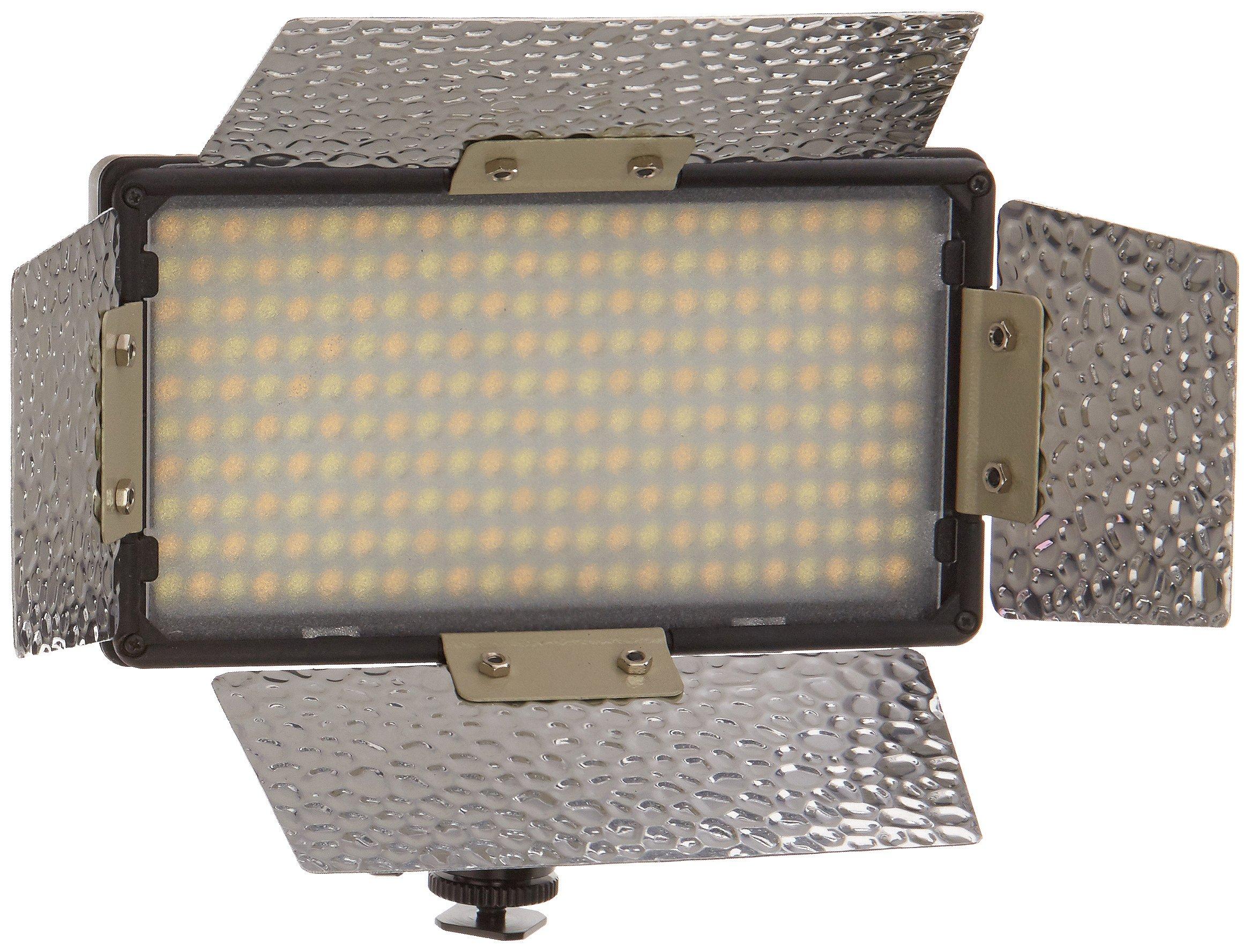 CowboyStudio On-Camera LED Light with Adjustable Color Temperature (CN-240)