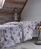 Catherine Lansfield Brushed Floral King Duvet Set
