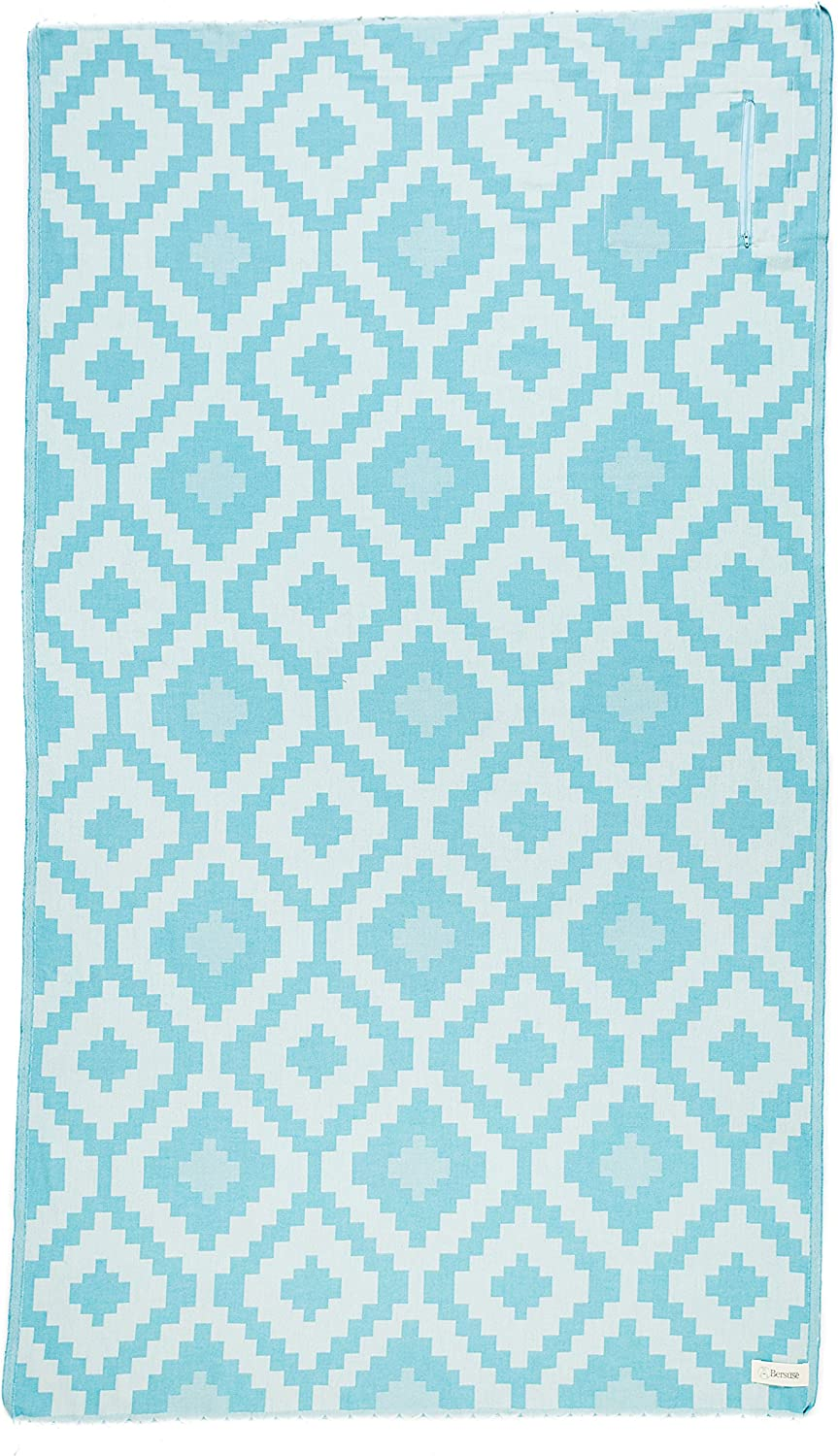 Bersuse 100% Cheap mail order specialty store Cotton Barbados Organic Towel 35% OFF Turkish 37x70 Inches