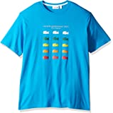 Lacoste Men's Multi Color Croc Graphic T-Shirt, TH2272-51