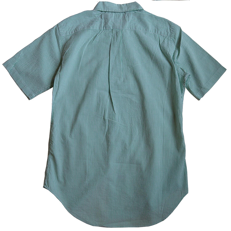 e3955dbc0 Polo Ralph Lauren Men s Classic Fit Short Sleeved Striped Seersucker Shirt-G-S  at Amazon Men s Clothing store