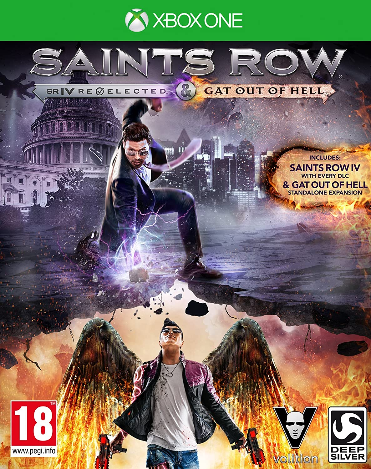 Amazon Com Koch International Saints Row Iv Re Elected Saints