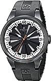 Perrelet Men's A1047/4 Turbine Analog Display Swiss Automatic Black Watch