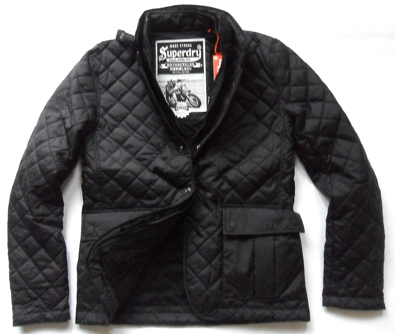 Superdry Men's Apex Quilt Short Jacket Black