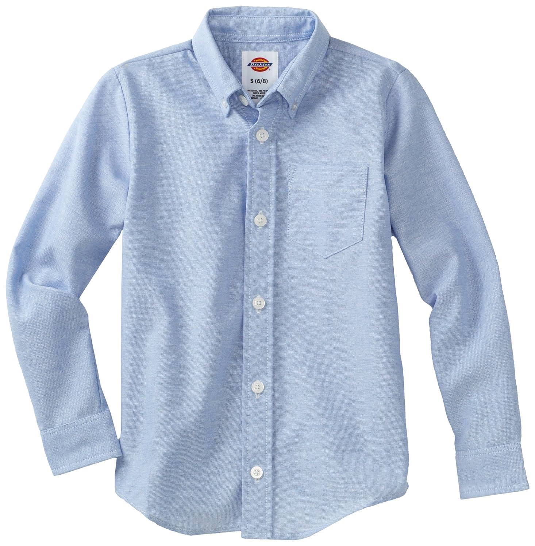 Dickies Boys' Long Sleeve Oxford Shirt Dickies Kids KL920