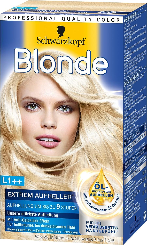 blonde l1 extrem aufheller plus 3er pack 3 x 143 g