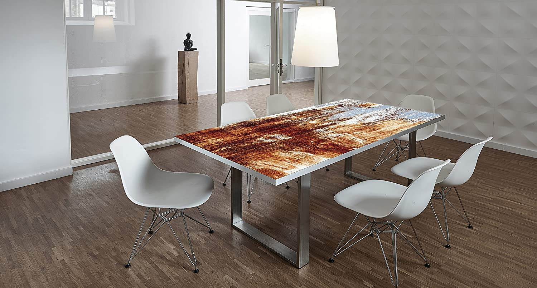 Design tisch schreibtisch hochwertige tischplatte for Designer arbeitstisch