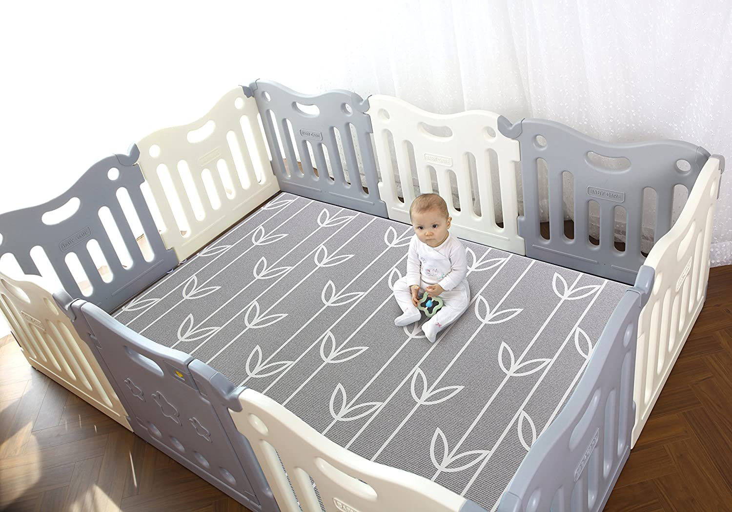 Baby Care Play Mat Pen Grey