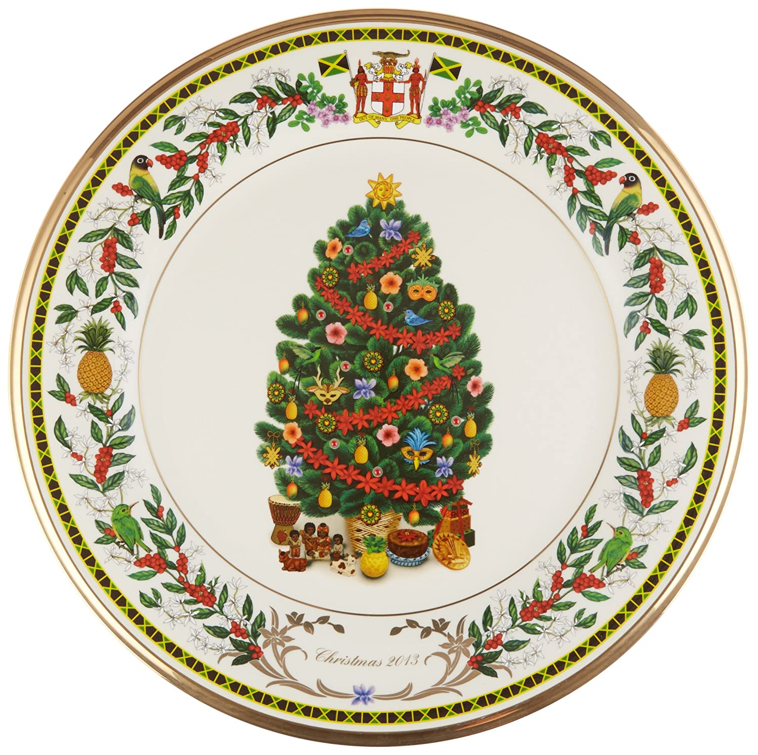 Amazon.com Lenox 2013 Trees Around The World Jamaica Decorative Plate Home \u0026 Kitchen  sc 1 st  Amazon.com & Amazon.com: Lenox 2013 Trees Around The World Jamaica Decorative ...