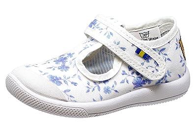 Kavat Unisex-Kinder Mölnlycke Espadrilles, Mehrfarbig (Floral), 20 EU