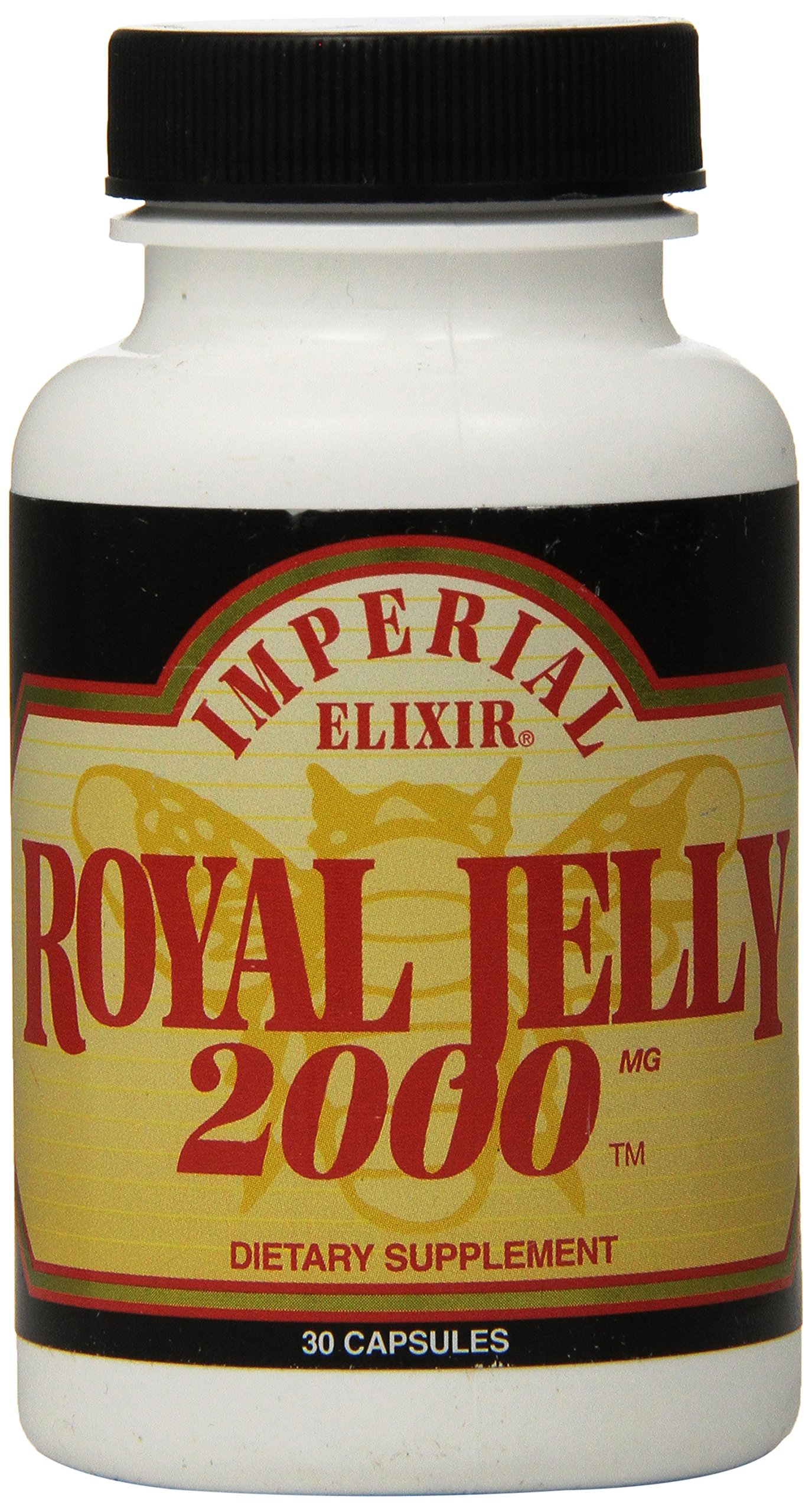 Imperial Elixir Royal Jelly, 2000 mg, 30 Capsules
