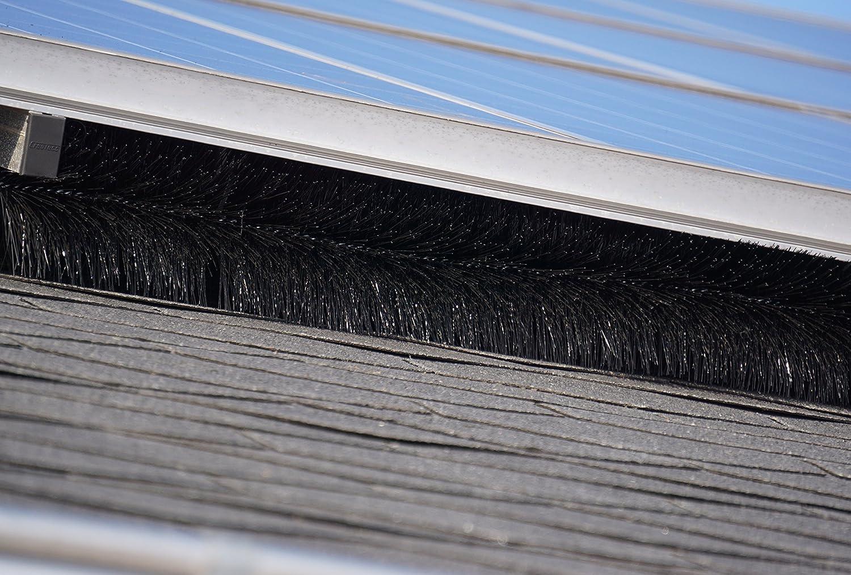 10Metros fotovoltaico Cepillo; 12cm de diámetro–unkompliziert–de fabricación en alemán (propia).