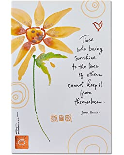 Amazon hallmark mahogany religious thank you greeting card american greetings sunflower thank you card with glitter m4hsunfo