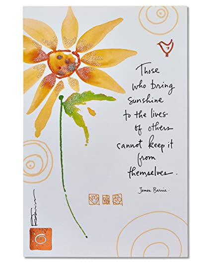 Amazon american greetings sunflower thank you card with american greetings sunflower thank you card with glitter m4hsunfo