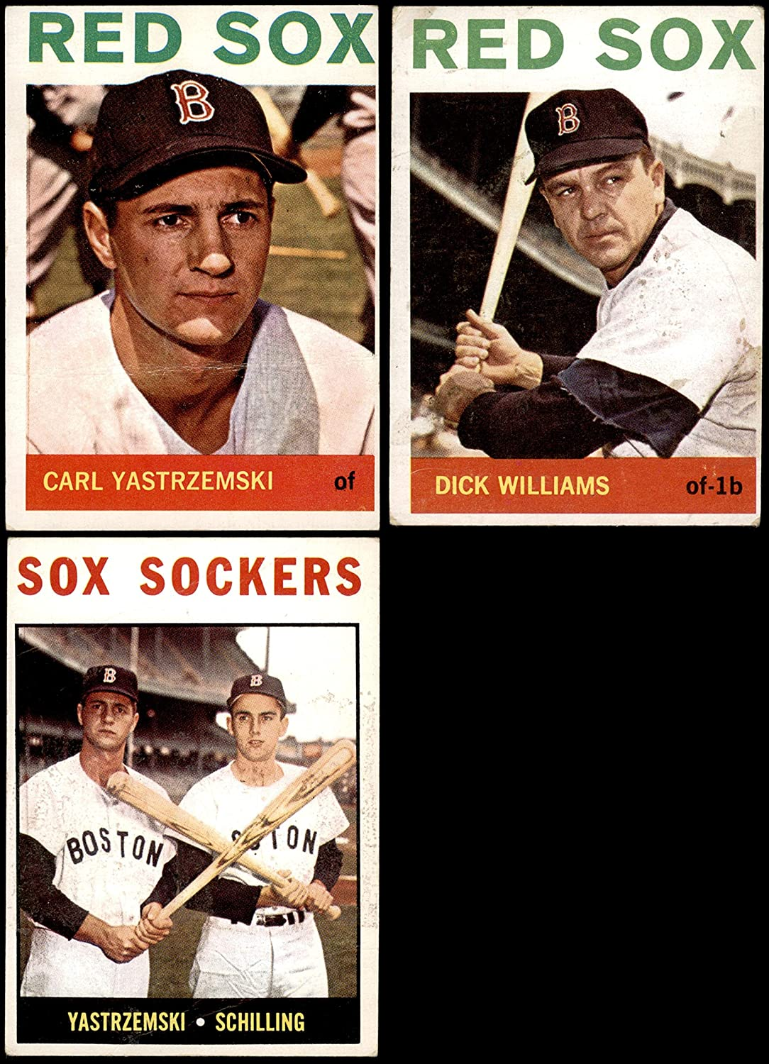 1964 Topps Boston Red Sox Team Set Boston Red Sox (Baseball Set) Dean's Cards 2 - GOOD Red Sox