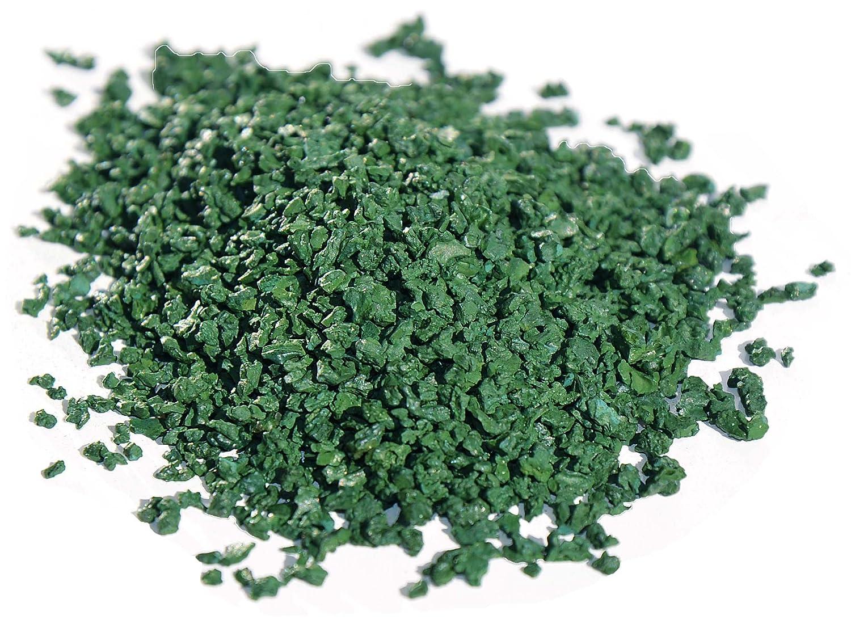 Espirulina 100% pura en granulados: alto contenido en nutrientes esenciales (vitaminas, proteinas, antioxidantes, minerales) gracias a un secado a ...