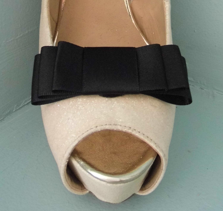 Fermagli per scarpe Bow Nero a tripla mano - altri colori su richiesta